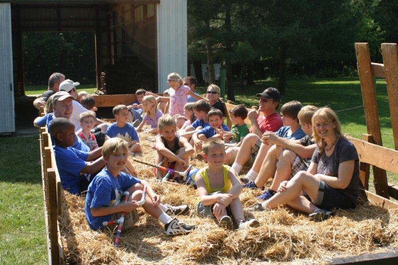 Image result for images hayrack ride youth group church